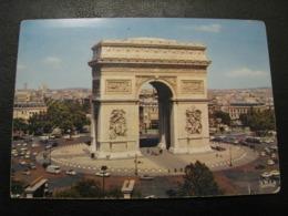 France Unused Postcard Clean Mexichrome Paris Triumphal Arch 1960 Years - Arc De Triomphe
