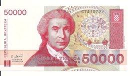 CROATIE 50000 DINARA 1993 UNC P 26 - Kroatië