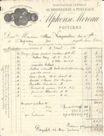 POITIERS ALPHONSE MOREAU MANUFACTURE CENTRALE DE BROSSERIE PINCEAUX ANNEE 1926 - Frankreich