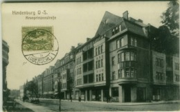 POLAND - HINDENBURG O.S. /  Zabrze - KRONPRINZENSTRASE - EDIT H.J. SOBOTZIK - COMMISION DE GOUVERNEMENT - 1910s (BG4438) - Poland