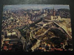 France Unused Postcard Clean Mexichrome Marseilles Notre - Dame De La Garde - Notre-Dame De La Garde, Lift