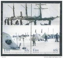 Irlande 2004 N°1574/1577 Neufs ** Expédition En Antarctique De E. Shackleton - Neufs