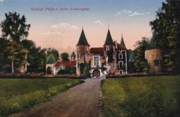 AK Schloß Phlin B. Delm - Lothringen - Feldpost Kgl. Sächs. Armierungs-Bataillon 21 - 1916 (43927) - Lothringen