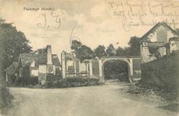 PUISIEUX CARTE ALLEMANDE 1915 CACHET AIGLE AU VERSO - Andere Gemeenten