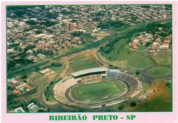 Postcard Stadium Ribeirao Preto Brasil Stadion Stadio - Estadio - Stade - Sports - Football  Soccer - Football