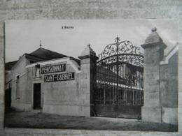 SAINT LAURENT SUR SEVRE                        PENSIONNAT SAINT GABRIEL      L'ENTREE - Frankreich