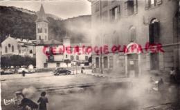 09 - AX LES THERMES- BASSIN DES LADRES  FONTAINE D' EAU CHAUDE TEMPERATURE 80 ° -CARTE PHOTO-   ARIEGE - Ax Les Thermes