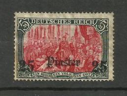 Levant Allemand N°51 - Deutsche Post In Der Türkei
