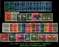 Österreich - Aus  Mi. Nr. 321 - 39  - In Postfrisch + Ungebraucht - 1850-1918 Imperium