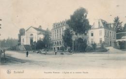 CPA - Belgique - Brussels - Bruxelles - Boitsfort - Nouvelle Avenue - L'Eglise Et La Maison Haute - Watermael-Boitsfort - Watermaal-Bosvoorde