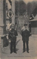 Thème:    Métier.  Douanier. Frontière Franco Allemande. Schlucht  Gendarmes Français Et Allemands (Voir Scan) - Police - Gendarmerie
