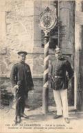 Thème:    Métier.  Douanier. Frontière Franco Allemande.Col De La Schlucht  Gendarmes Français Et Allemands (Voir Scan) - Police - Gendarmerie
