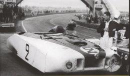 Cunningham 'Le Monstre' -Pilotes:Briggs Cunningham/Phil Walter - (Concurrents Americaine Du Mans 1950)  - PHOTO 15x10cms - Le Mans
