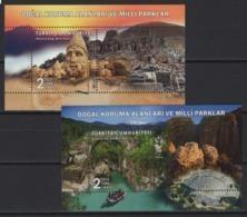 Turkey (2019) - 2 Blocks -  /   UNESCO World Heritage - Archaeology - Arqueología