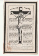 Décès Pierre Joseph IMBERT Veuf Hulin Inspecteur Enseignement Primaire Enghien 1794 - 1878 - Images Religieuses