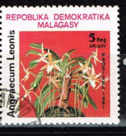 Madagaskar 1981, Michel# 869 O  Flora: Angraecum Leonis - Madagaskar (1960-...)