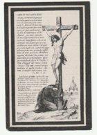 Décès Pierre Joseph HULIN époux Petit Melsbroeck 1819 Enghien 1888 - Images Religieuses