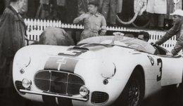 Cunningham C2-R - Pilotes:Briggs Cunningham/George Hunton - (Concurrents Americaine Du Mans 1951)  - PHOTO 15x10cms - Le Mans
