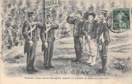 Thème:    Métier. Douanier. Frontière Franco Italienne Déserteur Italien  Gendarmes Et Douaniers  (Voir Scan) - Police - Gendarmerie