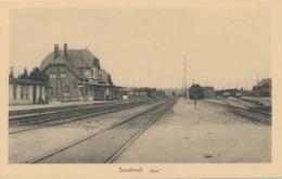 CPA - Belgique - Sourbrodt - Gare - Waimes - Weismes