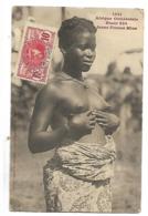 COTE D'IVOIRE JEUNE FEMME MINA SEINS NUS 1911 CPA 2 SCANS - Ivoorkust