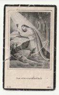 Décès Marie-Louise PLETINCX Enghien 1850 - 1925 - Devotion Images