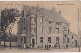 DULMEN - DUELMEN - Dülmen - 1906 - Restaurant B. Reckers - Gruss Aus Dülmen - Duelmen