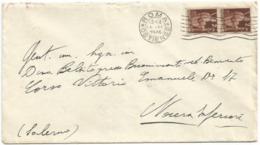 . Luogotenenza 12giu1946 Ultimo Giorno Re Di Maggio Umberto II° - Busta Roma 15giu46 X Nocera Inf. Tumulti Di Napoli - 6. 1946-.. Repubblica