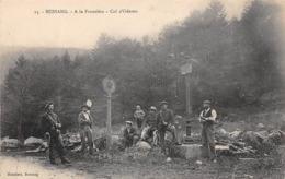 Thème:    Métier. Douanier. Frontière   Col D'Oderen  Bussang  88  Gendarmes  Douaniers (Voir Scan) - Police - Gendarmerie