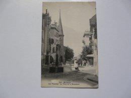 CPA SUISSE - MONTREUX : Les Planches - La Place Et Le Grammont - VS Valais