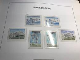 BELGIUM MNH** 1133/38 PARACHUTISME - Belgium