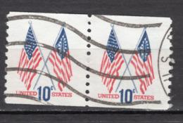 #2, USA, BOBINO, Coil, Roulette, Paire, Drapeau, Flag - Coils & Coil Singles