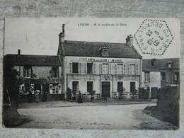 LISON              A LA SORTIE DE LA GARE HOTEL DE LA GARE  BURNEL - Frankreich