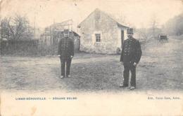 Thème:    Métier.  Douanier. Douane Belge  Limes-Gérouville  Gendarmes  Douaniers (Voir Scan) - Police - Gendarmerie