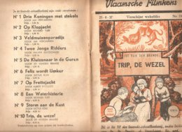 Vlaamsche Filmkens 337 Trip, De Wezel Jef Van Den Brande 1937 GROOT FORMAAT: 16x23,5cm Averbode's Jeugbibliotheek - Oud