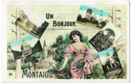 Montaigu - Un Bonjour De   B12a - Scherpenheuvel-Zichem