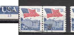 #2, USA, BOBINO, Coil, Roulette, Drapeau, Flag, Maison Blanche, White House - Coils & Coil Singles