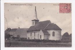 CP 90 MONTREUX CHATEAU L'église - Otros Municipios