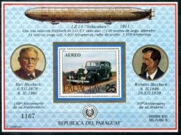 5098 - PARAGUAY - Block 349 ** - AUTO / MAYBACH / ZEPPELIN / CAR - Paraguay