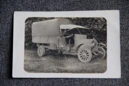 Guerre 1914 -18 : Un Soldat Devant Son Camion. - Materiale