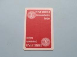 PEPIJN Bronnen Sources Limonadefabriek LANDEN ( Schoppen 9 ) ( Details - Zie Foto's Voor En Achter ) ! - Speelkaarten