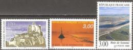 France - 1998 - Le Gois, Baie De Somme Et Château De Crussol - YT 3167 à 3169 Neufs Sans Charnière - MNH - Ungebraucht