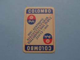 COLOMBO Sigarettentabak ( Harten 7 ) ( Details - Zie Foto's Voor En Achter ) ! - Speelkaarten