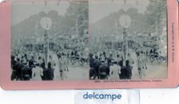 PHOTO STEREOSCOPIQUE -    LONDON -  After The Procession,  Diamond Jubilee - 1897 - Fotos Estereoscópicas