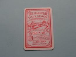 BRUNAR Oude Graan Genever LEUVEN ( Ruiten 2 ) ( Details - Zie Foto's Voor En Achter ) ! - Speelkaarten