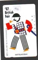 Télécarte Japon * ANGLETERRE * ENGLAND *  (446) GREAT BRITAIN RELATED * Phonecard Japan - Cultura