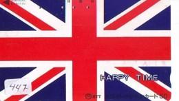 Télécarte Japon * ANGLETERRE * ENGLAND *  (447) GREAT BRITAIN RELATED * Phonecard Japan - Cultura