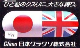 Télécarte Japon * ANGLETERRE * ENGLAND *  (448) GREAT BRITAIN RELATED * Phonecard Japan - Cultura