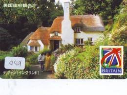 Télécarte Japon * ANGLETERRE * ENGLAND *  (449) GREAT BRITAIN RELATED * Phonecard Japan - Cultura