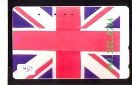 Télécarte Japon * ANGLETERRE * ENGLAND *  (450) GREAT BRITAIN RELATED * Phonecard Japan - Cultura